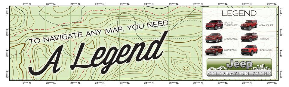 To Navigate Any Map, You Need A Legend