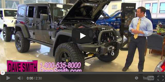Customized jeep wrangler dave smith motors accessories for Dave smith motors used inventory