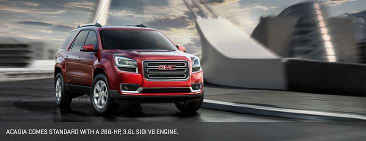 See Seattle in a New 2014 GMC Acadia from Dave Smith