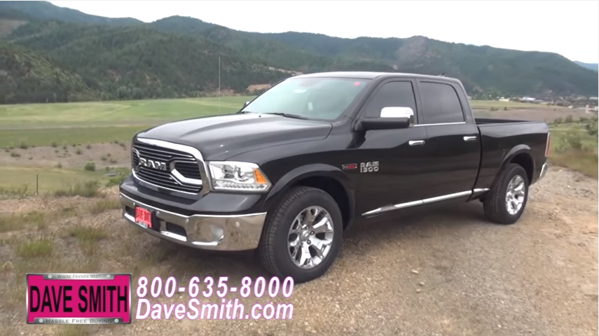 2016 ram 1500 laramie limited crew cab 4x4 walk around for Dave smith motors used inventory