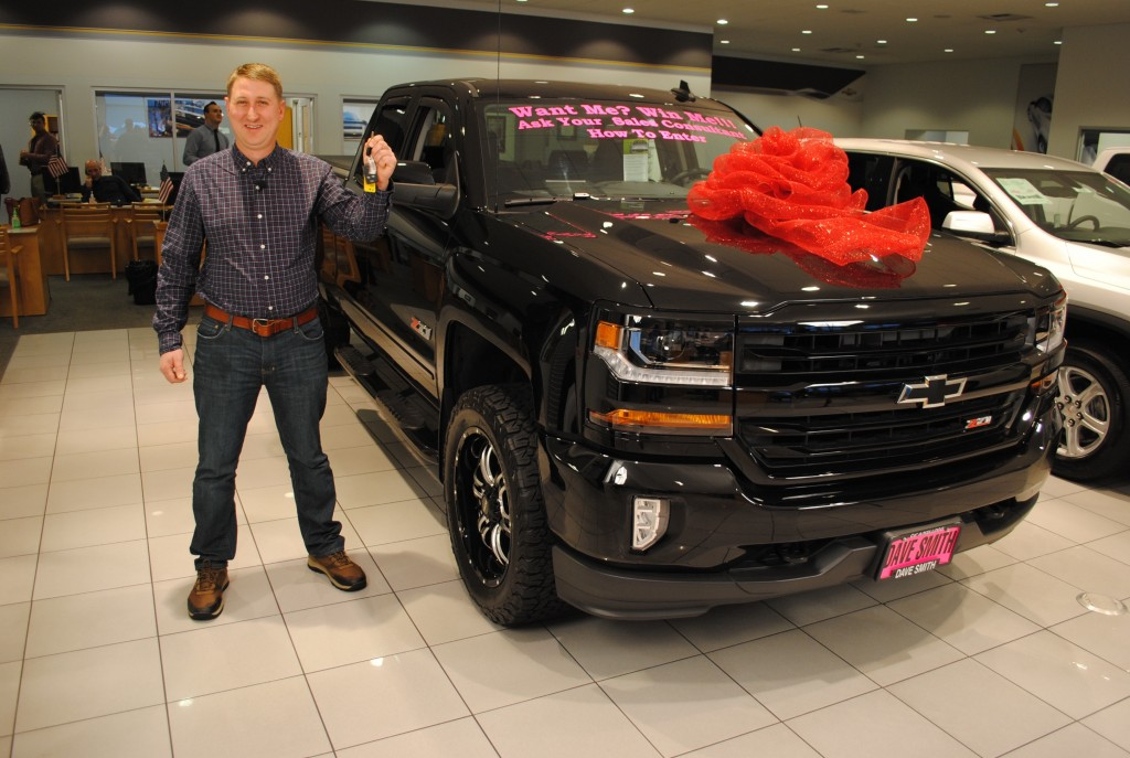 2016 Chevy Silverado Giveaway Winner Dave Smith Blog