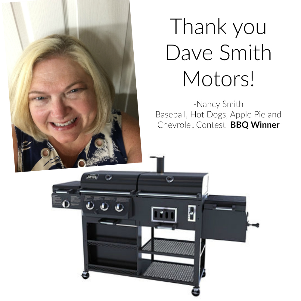 First BBQ Winner is Excited - Dave Smith Blog